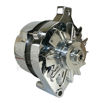 Picture of Chrome Alternator for 1G Series Ford Engines