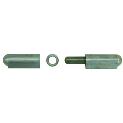"Picture of 4"" Aluminum Weld On ""Bullet"" Hinge with Stainless Steel Pin and Bushing"