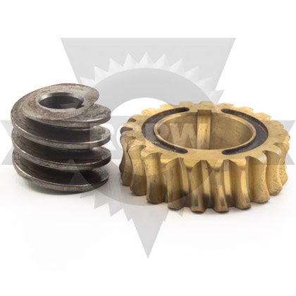 Picture of WORM & GEAR SERVICE ASSEMBLY