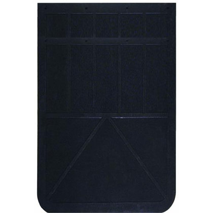 """Picture of 1/4"""" Regular-Duty Rubber Mudflaps - 20"""" W x 14"""" H - Pair"""