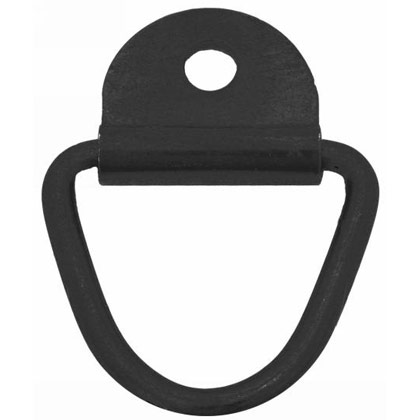 Picture of Black Zinc Surface Mounted Rope Ring with Clip