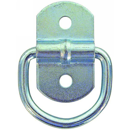 Picture of Zinc Plated Light Duty Surface Mount Rope Ring with Clip