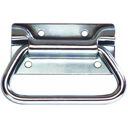 "Picture of Zinc Chest Handle - 4"" W x 2.75"" H"