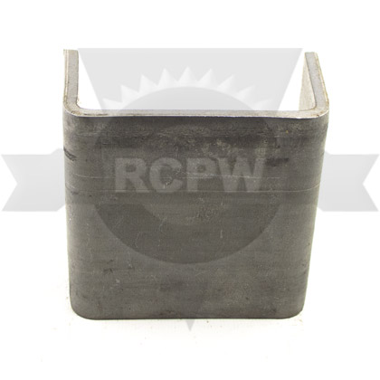 "Picture of Straight 1/4"" Steel Weld On Stake Pocket"