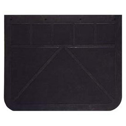 "Picture of 1/4"" Regular-Duty Rubber Mudflaps - 24"" W x 12"" H - Pair"
