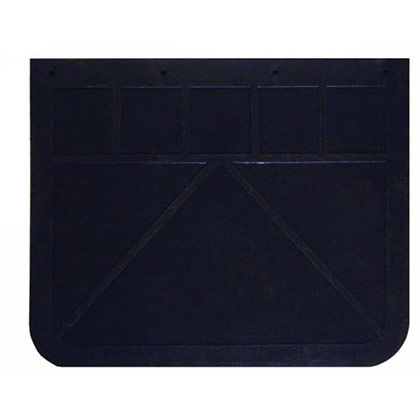 "Picture of 1/4"" Regular-Duty Rubber Mudflaps - 24"" W x 20"" H - Pair"