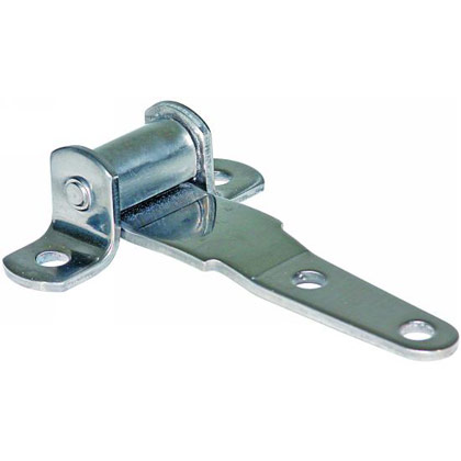 "Picture of 3-5/8"" Stainless Steel Strap Hinge - 4"" L x 2-3/4"" W"