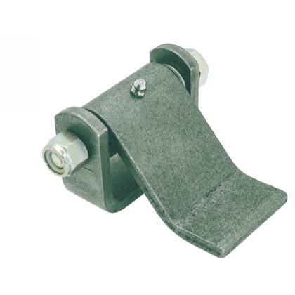 "Picture of Formed Hinge Strap with Grease Fitting - 3.85"" L x 4.33"" W x 2.44"" T"