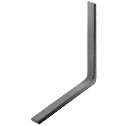 "Picture of Drop Forged Corner Iron - 12"" x 12"" x 1-1/2"" W"