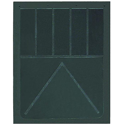 "Picture of 1/2"" Heavy Anti-Spray Rubber Mudflaps - 24"" W x 24"" H - Pair"