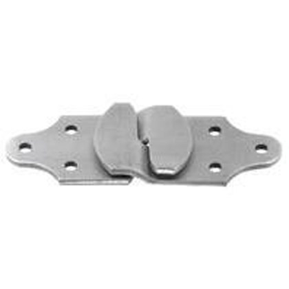 Picture of Zinc Straight Stake Rack Connector Set - One Left Hand Pair and One Right Hand Pair