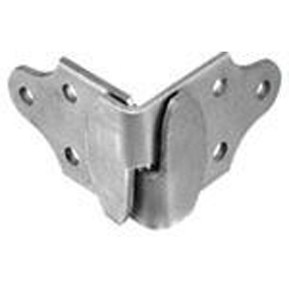 Picture of Zinc Corner Stake Rack Connector Set - One Left Hand Pair and One Right Hand Pair