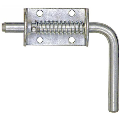 "Picture of 1/2"" Spring Latch Assembly with Short Handle - 5.19"" L x 1.75"" W (Keeper Sold Separately)"