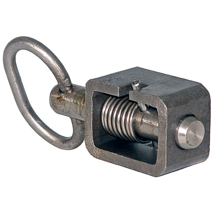 "Picture of 5/8"" Spring Latch with Stainless Steel Tube and Pin"