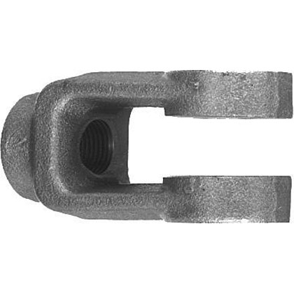 "Picture of 3/16"" Adjustable Yoke End - Zinc Plated"