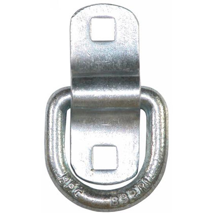 Picture of Zinc Plated Surface Mounted Rope Ring with Bolt-On Bracket
