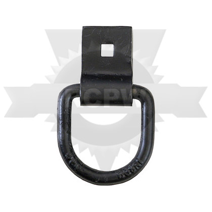 """Picture of 1/2"""" Forged D-Ring with Integral Bracket"""