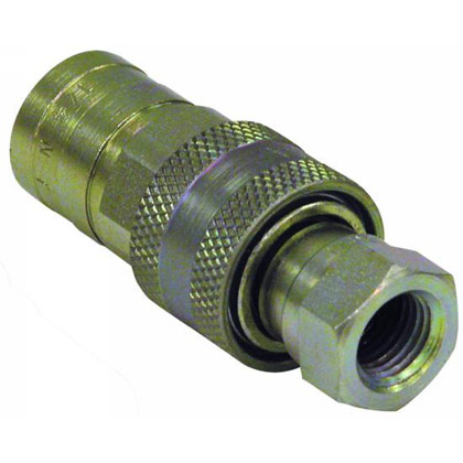 "Picture of Hydraulic Quick Coupler Assembly - 1"" NPTF"