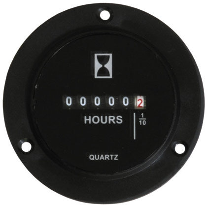 Picture of 10-80V DC Hour Meter with Quartz Battery