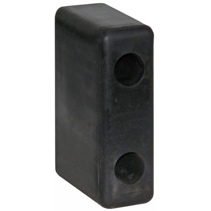 "Picture of Molded Rubber Bumper - 2-1/2"" x 4-1/8"" x 6-3/4"" - Pair"