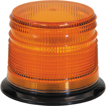 Picture of Amber Permanent Mount Snow Plow Strobe Light