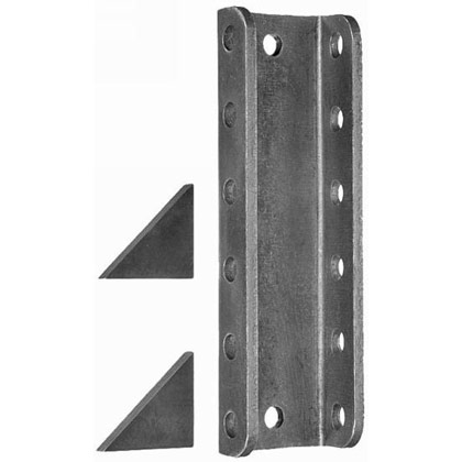 Picture of 5-Position Channel with Weld Gussets; used with 0090150, 0090100, 0091005 & B16137