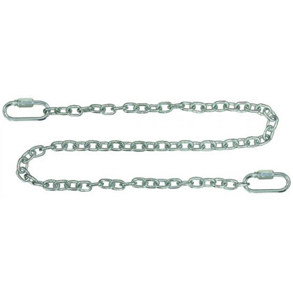 "Picture of Safety Chain with Quick Link Connectors - 9/32"" x 72"""