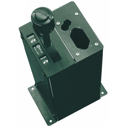 "Picture of Single-Lever Hoist Control for 1/4""-28 Thd. Cables & PTO Air Valves"