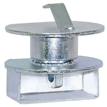 "Picture of Zinc Plated Drawbar Lock fits all 2-1/2"" to 3"" Lunette Eyes"