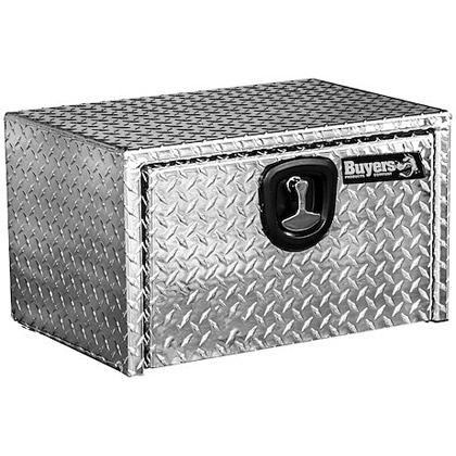 "Picture of 14"" x 16"" x 24"" Aluminum Bolt-On Optional Underbody Toolbox"