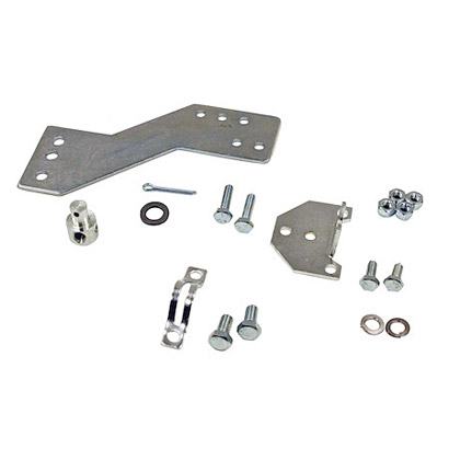 "Picture of PTO Connection Kit for Single Gear Chelsea & All Muncie for 1/4""-28 Thd. And 5/16""-24 Thd. Control Cables"