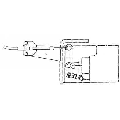 "Picture of Pump Connection Kit for BPC1010 & Commercial C101 for 1/4""-28 Thd. And 5/16""-24 Thd. Control Cables"