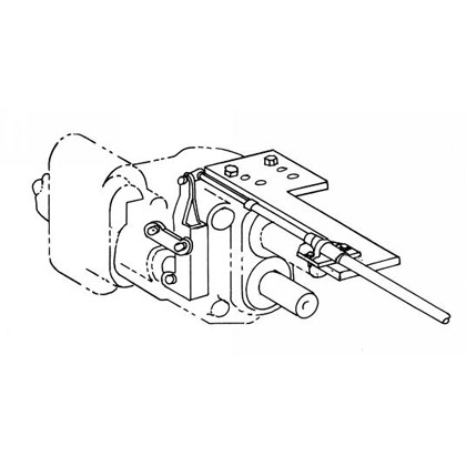Picture of Pump Connection Kit for Commercial G101 w/Detented Spool - (Front or Rear Cable Entry) Attaches to Mounting Pad
