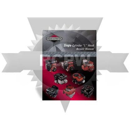 "Picture of 4-Cycle Single Cylinder ""L"" Head Engine Repair Manual"