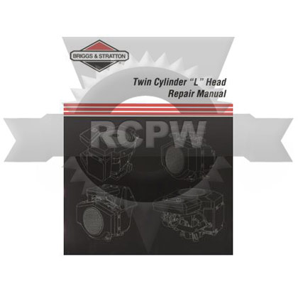 "Picture of Twin Cylinder ""L"" Head Engine Repair Manual"