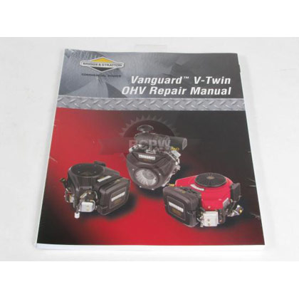 Picture of Vanguard™ V-Twin Overhead Valve (OHV) Engine Repair Manual