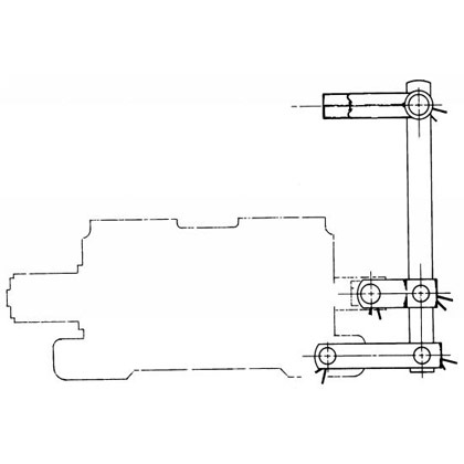 "Picture of Spool Valve Connection Kit for Commercial A-20 and 5/16""-24 Thd. Cables"