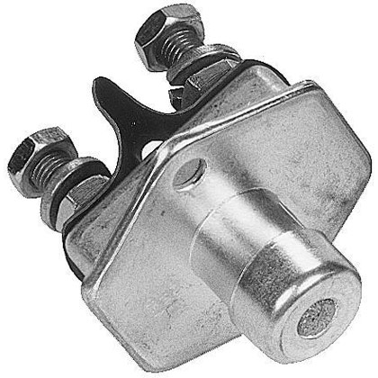 Picture of Push Button Flange Mount Switch - 2-Position S.P.S.T.