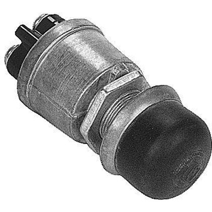 Picture of Push Button Panel Mount Momentary Switch - 2-Position S.P.S.T.