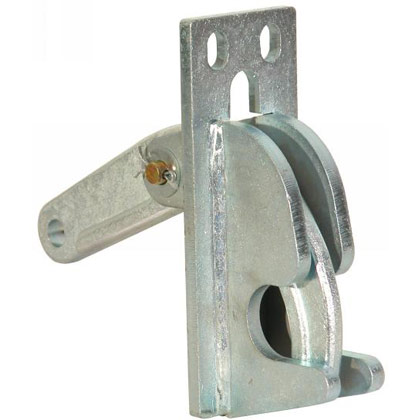 "Picture of 3"" Wide Lower Hinge Assembly for 1-1/4""-1-1/2"" Post - Bolt-On Forged Latch"