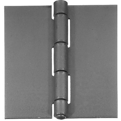 "Picture of Stainless Steel Butt Hinge - .075"" x 2"" x 2"" x .187"""