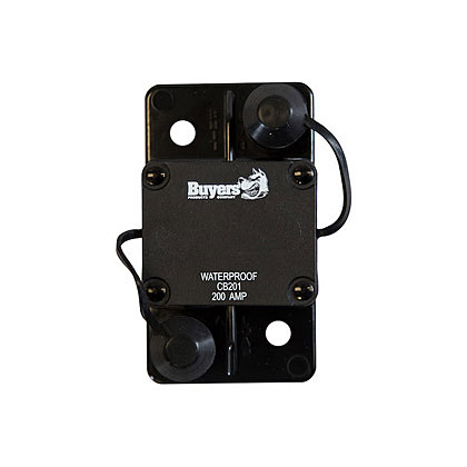 Picture of 200 Amp Auto Reset Large Frame Circuit Breaker