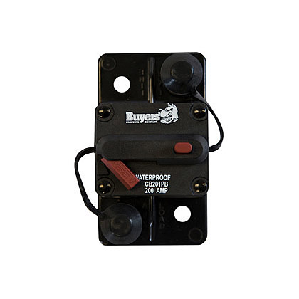 Picture of 200 Amp Manual Reset, Push-to-Trip Large Frame Circuit Breaker