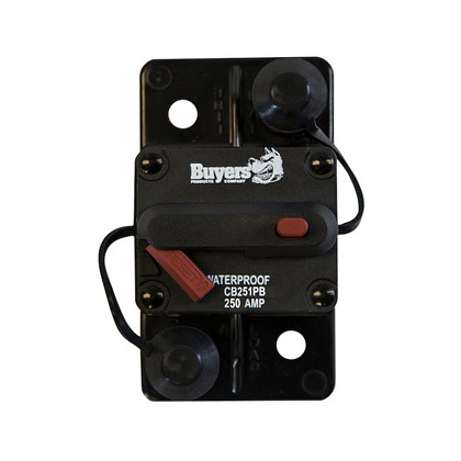Picture of 250 Amp Manual Reset, Push-to-Trip Large Frame Circuit Breaker