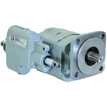 """Picture of Small Dump Truck Pump - 1-1/2"""" Gear Size - Direct Mount - Clockwise - 2.96 CIR"""