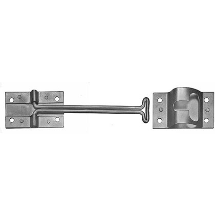 "Picture of Stainless Steel 4"" Hook and Keeper Door Holder"