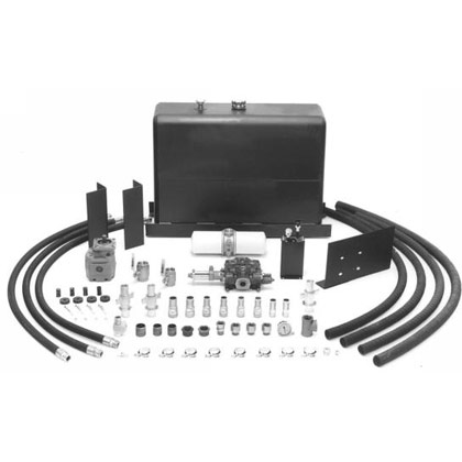 Picture of 50-Gallon Upright Steel Wetline Kit - Direct Mount - Dual Pressure Counterclockwise - 18 GPM Pump @ 1,000 RPM