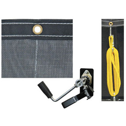 Picture of 4-1/2' x 10' Mesh Tarp & Hardware Kit for 5532000