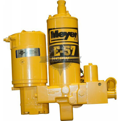 "Picture of Refurbished Meyer E57 Snow Plow Pump with 6"" Stroke"