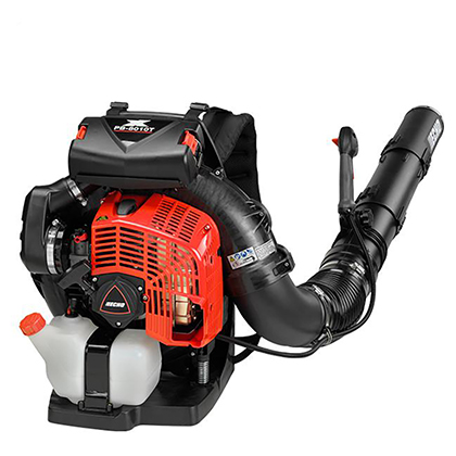 Picture of 79.9cc 211 MPH 1071 CFM Gas Backpack Leaf Blower w/ Tube Throttle